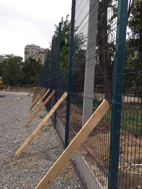 Строительство спорт площадки 10