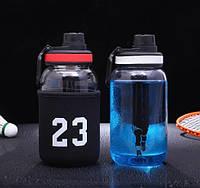 Спортивная бутылка NBA 700мл, боросиликатное стекло высокого качества