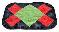 Килимок овальний, 65х85 см 66-150 | коврик овальный