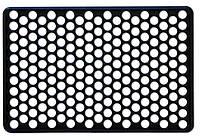 Килимок гумовий під вхідні двері Соти , 40х60 см (Україна) ДРТИ 66-157 | коврик резиновый Входные двери соты