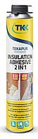 Піна клей монтажна 750мл Tekapur Insulation Adhesive 2в1 (6932) TKK 12-530 | пена монтажная, строительная, будівельна