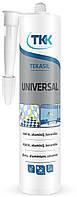 Герметик силіконовий універсальний Tekasil Universal білий 280мл 5662 TKK 12-330 | силиконовый универсальный белый , силикон, силікон