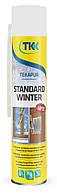Піна монтажна зимова Tekapur Standard Winter 750мл 45л (3856) TKK 12-506 | пена монтажная, строительная, будівельна зимняя