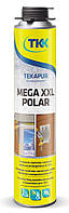 Піна монтажна Tekapur Mega Polar GUN 880мл, 70л (6925) TKK 12-519 | пена монтажная, строительная, будівельна