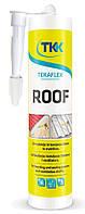 Клей-ущільнювач для вузлів примикання на дахах Tekaflex Roof, чорний, 300 мл (7833) TKK 12-372 | под пистолет