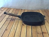 Сковорода квадратна 260мм, фото 2