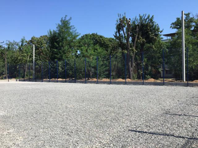 Строительство спорт площадки 19