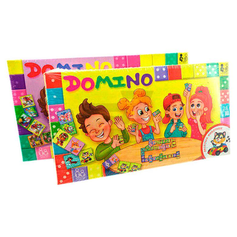 Игра DankoToys DT DMN-01 Домино детское