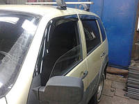 Дефлекторы окон (ветровики) Chevrolet Niva (шевроле нива/ ваз 21236) 2002+