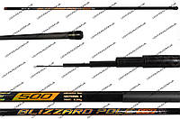 """Лёгкая маховая удочка """"Blizzard pole"""" Carbon Pole Rod LBS9021-1 5m б/к (M24)"""