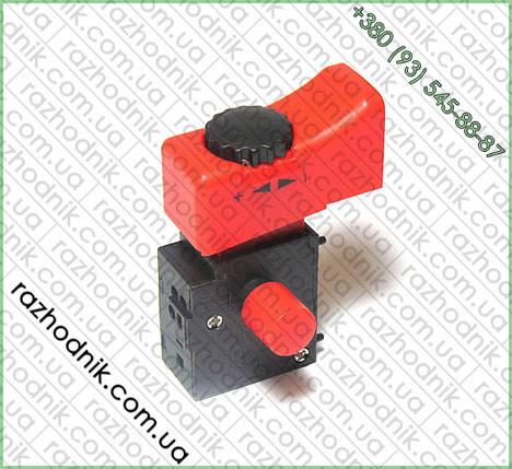 Кнопка болгарки DWT 125 VS, фото 2