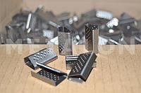 Скоба 19 мм (2000 шт), упаковочная металлическая для ПП лент
