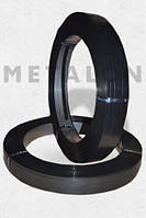 Лента 32х0,8 стальная упаковочная лакированная черный лак