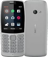 Кнопочный мобильный телефон нокиа с камерой и интернетом на 2 сим карты Nokia 210 DS Grey