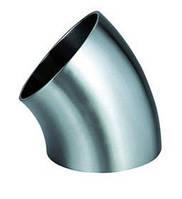 Отвод стальной ГОСТ 17375-83 угол 45* 377x9