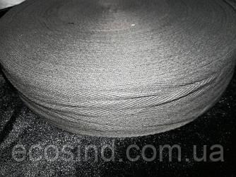4 см Киперная лента (хлопчатобумажная, серая) - 50м. (653-Т-0514)