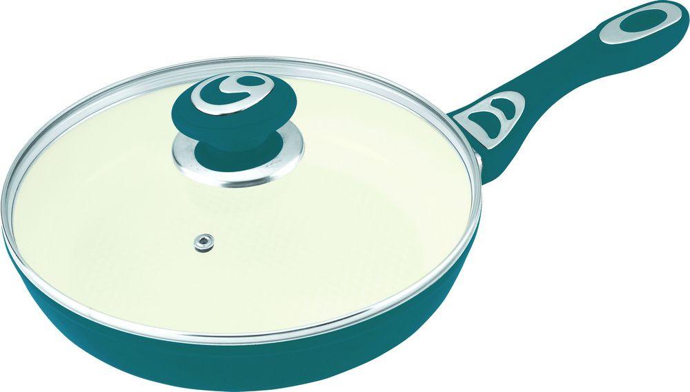 Сковорода Lessner Cooker 88701-26см бирюзовый