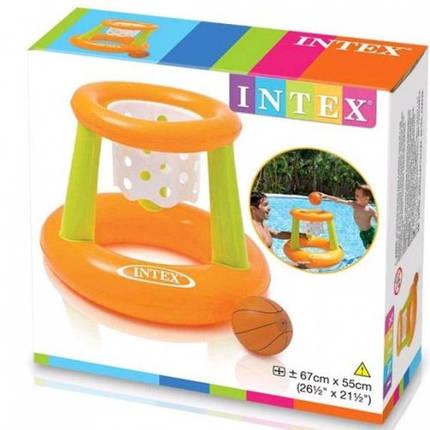 Баскетбольное кольцо INTEX 58504 67-55 см, фото 2