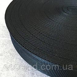 Стропа мягкая 5 см темно-синяя (653-Т-0008)