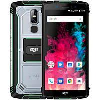 "Защищенный смартфон Homtom ZoJI Z11 green IP68 (2SIM) 5.99"" 4/64GB 13/16+2Мп 3G 4G оригинал Гарантия!"