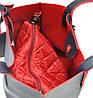 Женская сумка 35189 синяя с красным, фото 3