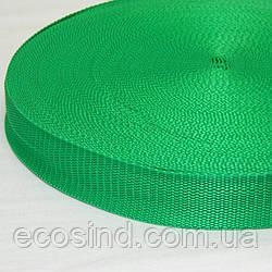 04-Зеленная тесьма сумочная-ременная, 3см (657-Л-0090)
