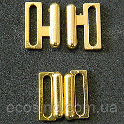 Застежки для купальника, 1,5см (золото) (657-Л-0128)