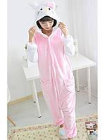 Детская пижама Кигуруми Hello Kitty 130 (на рост 128-138см)
