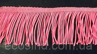 5 см бахрома 25 ярд, яскраво-рожева (657-Л-0386)