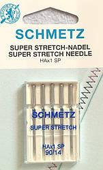 Игла Super Stretch НАх1 SP 90/14 для эластичных материалов и трикотажных изделий (шметс-19)