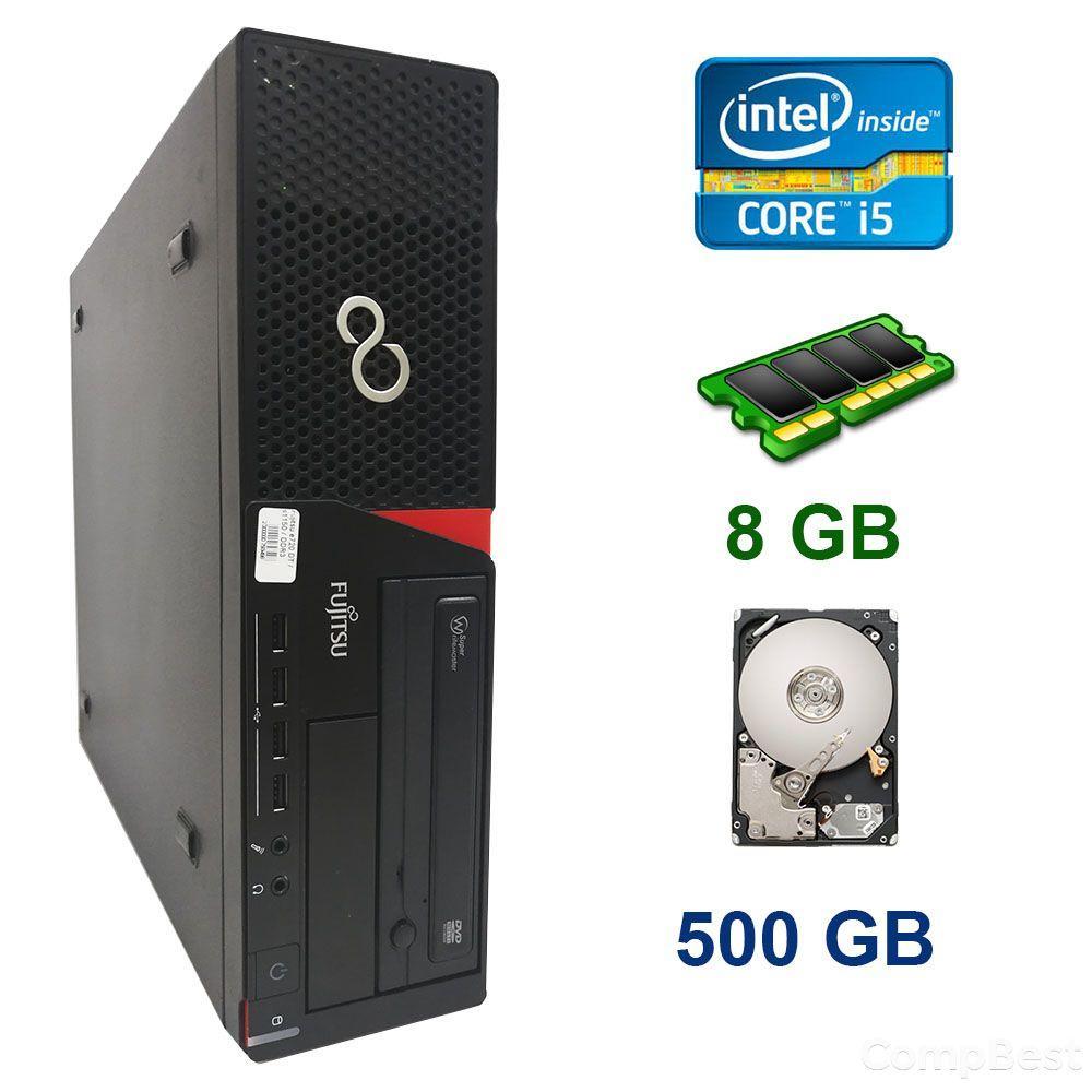 Fujitsu E720 SFF / Intel Сore i5-4440 (4 ядра по 3.1 - 3.3 GHz) / 8 GB DDR3 / 500 GB HDD