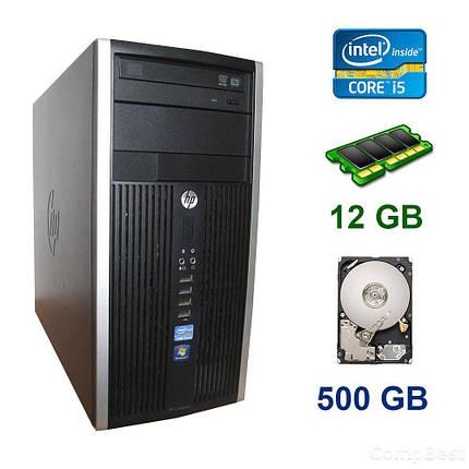 HP Compaq Elite 8300 Tower / Intel Core i5-3470 (4 ядра по 3.20 - 3.60 GHz) / 12 GB DDR3 / 500 GB HDD / AMD Radeon RX 560, 4 GB GDDR5, 128-bit, фото 2
