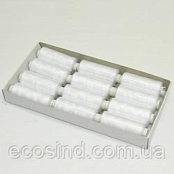 Джинсовые Kiwi (киви) нитки высокой прочности 20/2, 200 ярдов, белые (339-Kiwi-003)