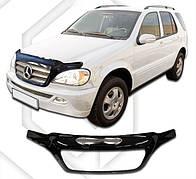 Дефлектор капота  Mercedes-Benz ML Class с 1997- 2005, Мухобойка Mercedes-Benz ML Class