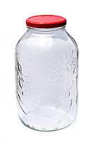 Стеклянная банка Everglass 5 литров 5000