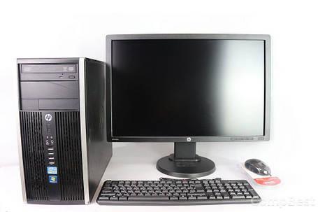"""HP Compaq Elite 8300 Tower / Intel Core i5-3470 (4 ядра по 3.2 - 3.6 GHz) / 4 GB RAM / 320 GB HDD + HP Z24I / 24"""" (1920x1200) AH-IPS LED / DVI, USB,, фото 2"""