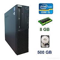 Lenovo ThinkCentre M91p Desktop  / Intel Core  i5-2400 (4 ядра по 3.1 - 3.4 GHz) / 8 GB DDR3 / 500 GB HDD / DVD-RW