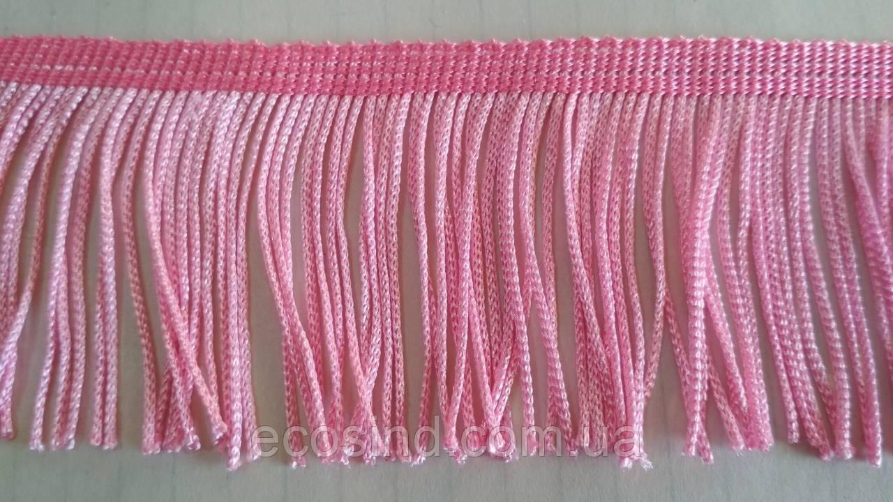 5 см бахрома 25 ярд, розовая (657-Л-0382)
