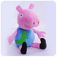 Мягкая игрушка «Свинка Пеппа» - Джордж 38 см
