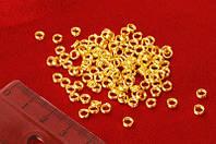 Кольца двойные, золотой(10 грамм) 77_21
