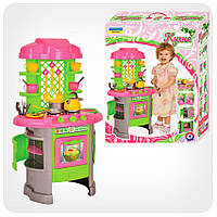 Набор детский «Кухня» (салатово-розовая)