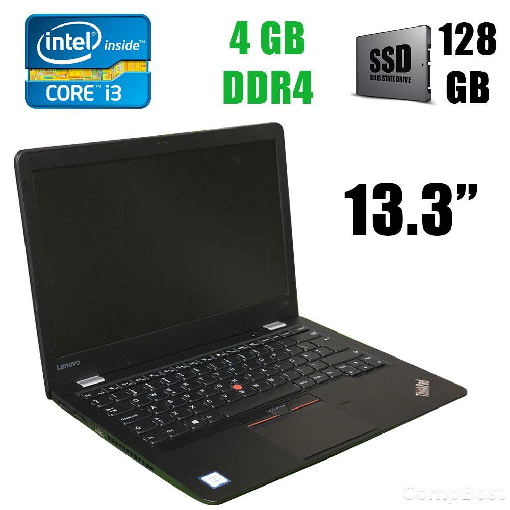 "Lenovo ThinkPad S2 / 13.3"" (1366x768) / Intel Core i3-6100U (2(4)ядра по 2.30GHz) / 4 GB DDR4 / 128 GB SSD"