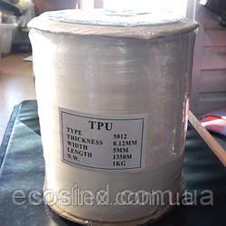Силиконовая лента для укрепления швов, прозрачная, ширина 5 мм (1 кг ) 1350м (657-Л-0491)