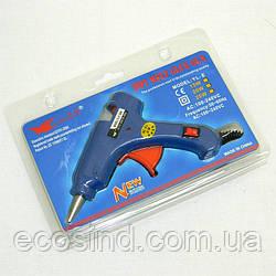 Пистолет клеевой, термопистолет для рукоделия под стержни 7 мм (657-Л-0084)