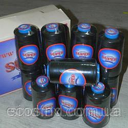 ОПТ от 120 шт (ящик) Нитки Super швейные черные 40/2 4000ярдов (6-2274-М-BO)
