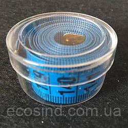 Сантиметр Швейный (в пластиковой коробочке) 1,5м. Синий (2-2171-Т-28)