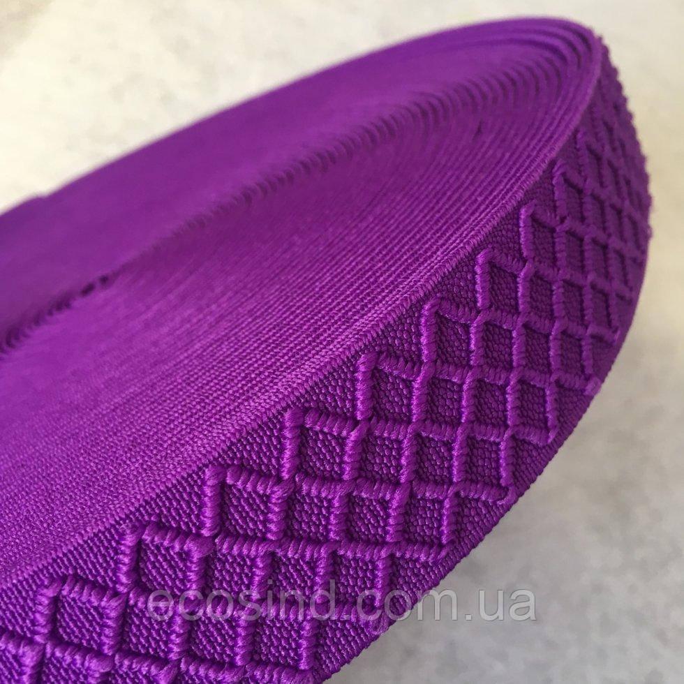 Резинка поясная - 3см/25ярд. фиолетовый (653-Т-0181)