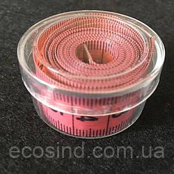 Сантиметр Швейный (в пластиковой коробочке) 1,5м. Красный (2-2171-Т-27)