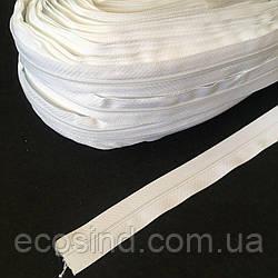 """Рулонная молния типа """"Спираль"""" Т-3 (200м.), белая (6-2426-В-091)"""