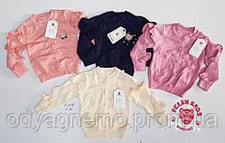 Свитер для девочек Pelin Kids, 1-4 года. Артикул: F014-персиковый